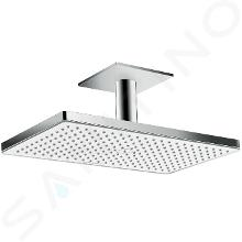 Hansgrohe Rainmaker Select - Hoofddouche 460, EcoSmart 9 l/min, douchearm 100 mm, wit/chroom 24012400