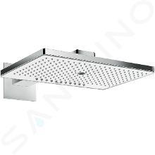 Hansgrohe Rainmaker Select - Hlavová sprcha 460, 3 prúdy, EcoSmart 9 l/min, sprchové rameno 460 mm, biela/chróm 24017400