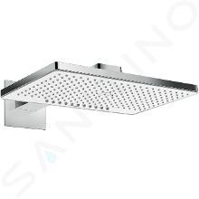 Hansgrohe Rainmaker Select - Hlavová sprcha 460, 2 prúdy, sprchové rameno 460 mm, biela/chróm 24005400