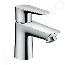 Hansgrohe Talis E - Miscelatore monocomando 80 CoolStart per lavabo, senza sistema di scarico, cromato 71704000