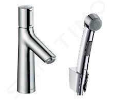 Hansgrohe Talis Select S - Umyvadlová baterie 100 s ruční sprchou Bidette, chrom 72291000