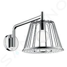 Axor LampShower - Horná sprcha 1jet so sprchovým ramenom a sdizajnom Nendo, chróm 26031000