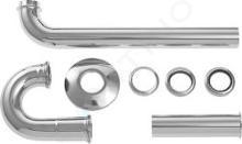"""Duravit Accessori - Sifone tubolare 1 1/4"""" per lavabo 0050260000"""