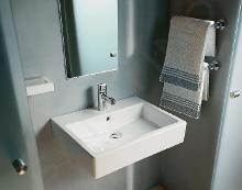 Duravit Vero - Waschbecken 600x470 mm, 1 Hahnloch, Alpinweiß 0454600000