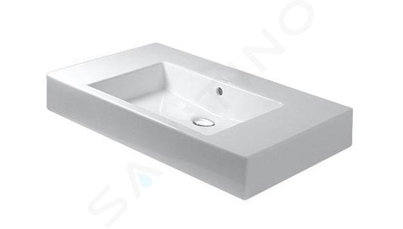 Duravit Vero - Wastafel 850x490 mm, zonder kraangat, alpine wit 0329850060