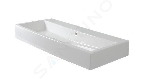 Duravit Vero - Wastafel 1000x470 mm, zonder kraangat, alpine wit 0454100060