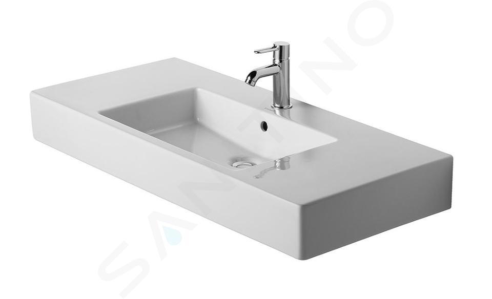Duravit Vero - Waschbecken 1050x490 mm,1 Hahnloch, Alpinweiß 0329100000