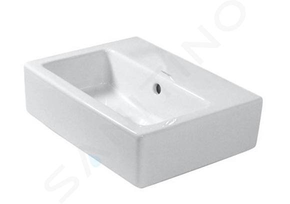Duravit Vero - Fontein 450x350 mm, zonder kraangat, alpine wit 0704450060