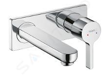 Hansgrohe Metris S - Miscelatore monocomando ad incasso per lavabo, cromato 31162000
