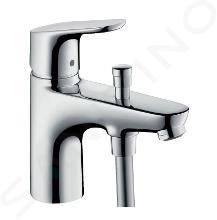 Hansgrohe Focus E2 - Miscelatore monocomando Monotrou per vasca da bagno, cromato 31930000