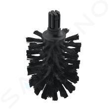 Hansgrohe Logis - Tête de brosse de WC noir 40068000
