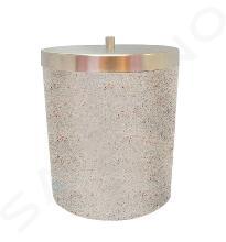 Sapho Ridder Stone - Mistkübel, beige 22010811
