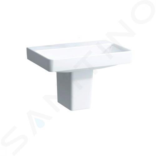 Laufen Pro S - Umyvadlo, 650x465 mm, bez otvoru pro baterii, bez přepadu, bílá H8109640001421