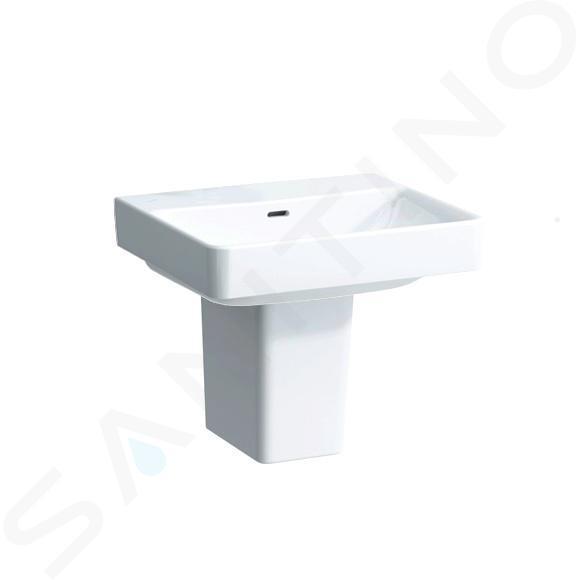 Laufen Pro S - Umyvadlo, 550x465 mm, bez otvoru pro baterii, bílá H8109620001091