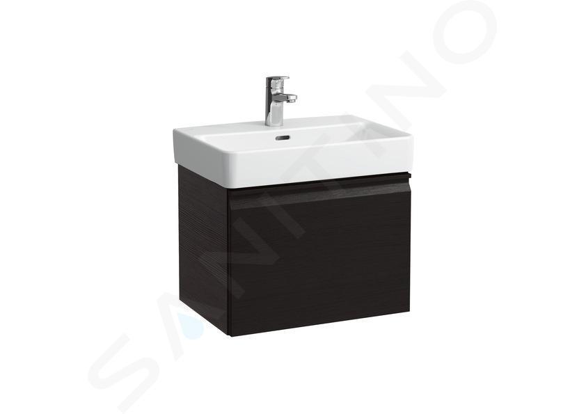 Laufen Pro S - Lavabo Compact, 550x380 mm, 1 trou pour robinetterie, blanc H8189580001041