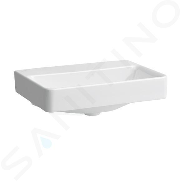 Laufen Pro S - Umyvadlo Compact, 550x380 mm, bez otvoru pro baterii, bez přepadu, bílá H8189580001421