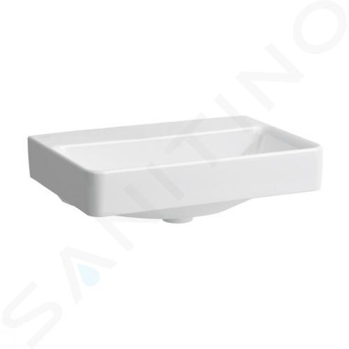 Laufen Pro S - Umyvadlo Compact, 550x380 mm, bez otvoru pro baterii, bez přepadu, s LCC, bílá H8189584001421