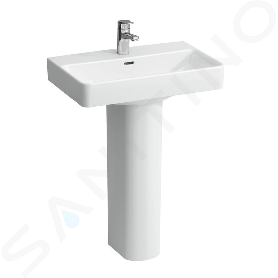 Laufen Pro S - Lavabo Compact, 600x380 mm, 1 trou pour robinetterie, blanc H8189590001041