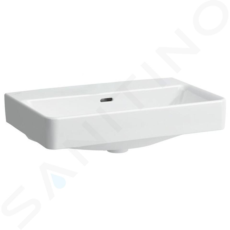 Laufen Pro S - Umyvadlo Compact, 600x380 mm, bez otvoru pro baterii, bílá H8179590001091