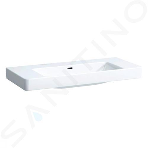 Laufen Pro S - Umyvadlo, 1050x460 mm, bez otvoru pro baterii, s LCC, bílá H8139664001091