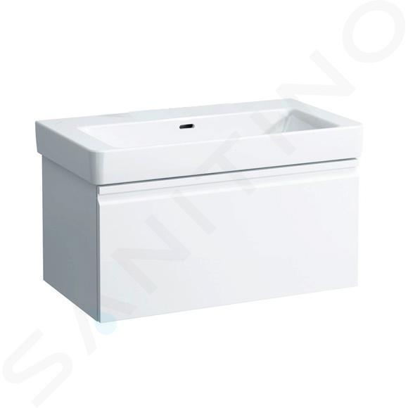 Laufen Pro S - Umyvadlo, 850x460 mm, bez otvoru pro baterii, bílá H8139650001091