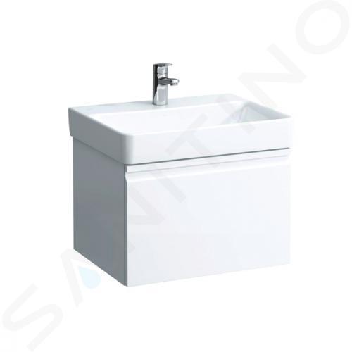 Laufen Pro S - Umyvadlo, 550x465 mm, bez otvoru pro baterii, bez přepadu, bílá H8169620001421