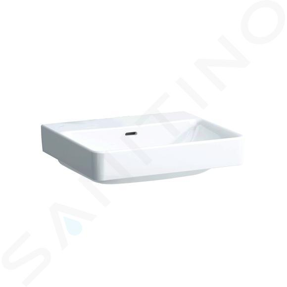 Laufen Pro S - Umyvadlo, 550x465 mm, bez otvoru pro baterii, s LCC bílá H8169624001091