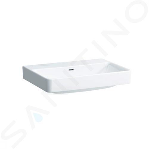 Laufen Pro S - Umyvadlo, 650x465 mm, bez otvoru pro baterii, bílá H8169640001091