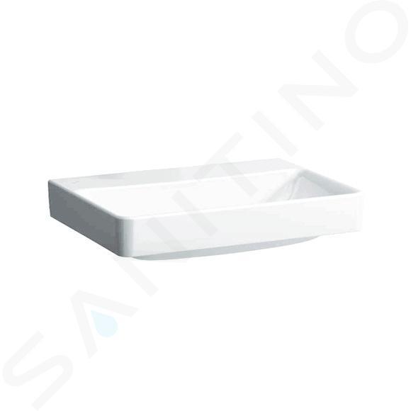 Laufen Pro S - Umyvadlo, 650x465 mm, bez otvoru pro baterii, bez přepadu, s LCC, bílá H8169644001421