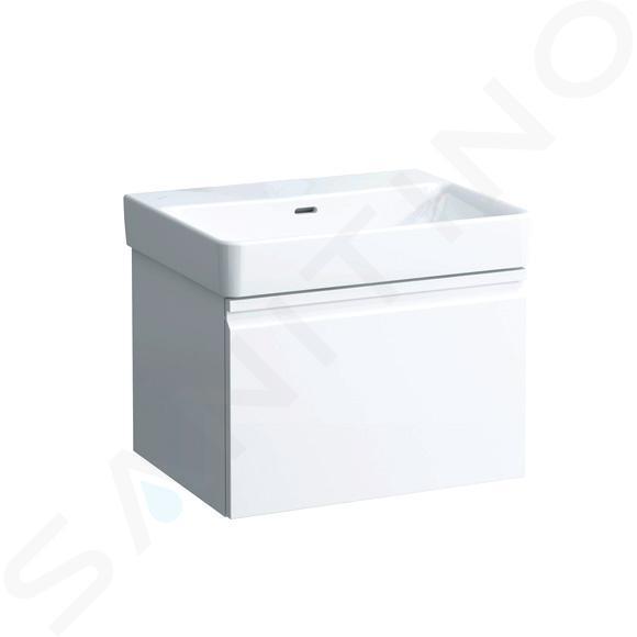 Laufen Pro S - Umyvadlo, 600x465 mm, bez otvoru pro baterii, s LCC, bílá H8169634001091
