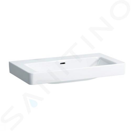Laufen Pro S - Umyvadlo, 850x460 mm, bez otvoru pro baterii, s LCC, bílá H8169654001091