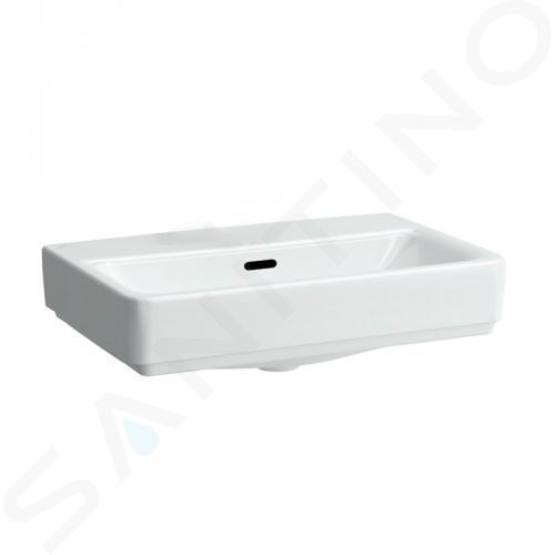 Laufen Pro S - Umyvadlo, 550x380 mm, bez otvoru pro baterii, s LCC, bílá H8129524001091