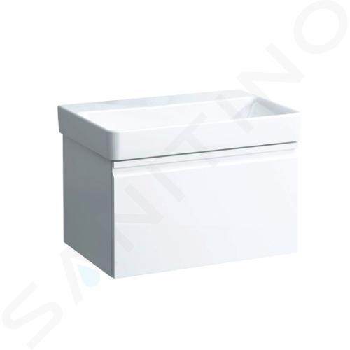 Laufen Pro S - Umyvadlo, 700x465 mm, bez otvoru pro baterii, bez přepadu, bílá H8169670001421