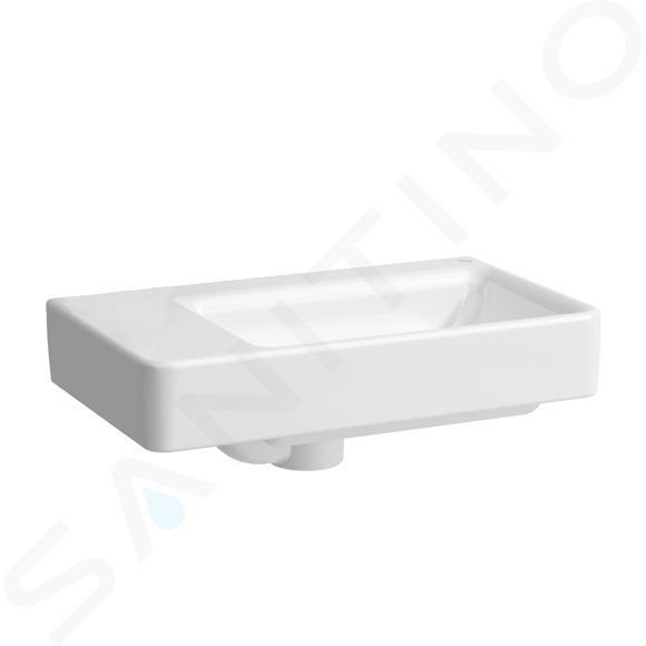 Laufen Pro S - Umývátko, 480x280 mm, bez otvoru pro baterii, s LCC, bílá H8159554001091