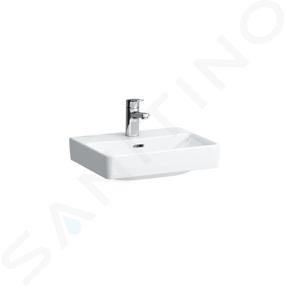 Laufen Pro S - Umývátko, 450x340 mm, 1 otvor pro baterii, bílá H8159610001041