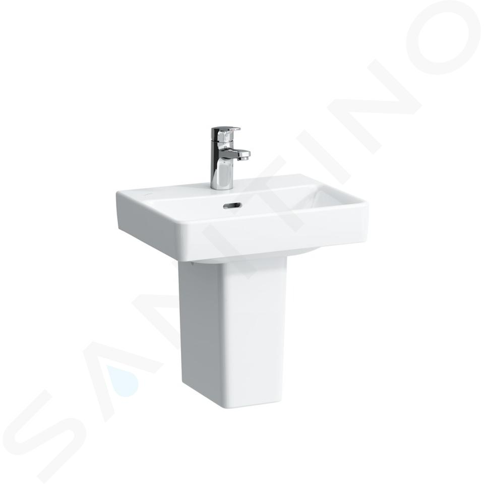 Laufen Pro S - Lavamani, 450x340 mm, 1 foro per miscelatore, bianco H8159610001041