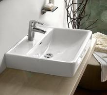 Laufen Pro - Lavabo, 650x480 mm, 1 trou pour robinetterie, blanc H8189530001041