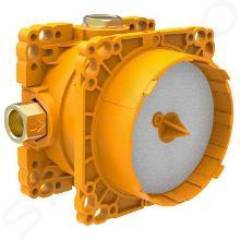 Laufen Concealed Bodies - Montážní těleso Simibox Light pro podomítkové baterie, s uzavíracím ventilem H3789800001001