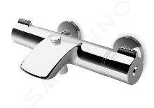 Laufen Curveprime - Vaňová termostatická nástenná batéria, chróm H3237070044001