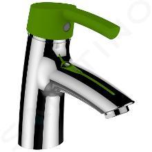 Laufen Curvepro - Umyvadlová páková baterie s výpustí push-open, chrom H3116510141111