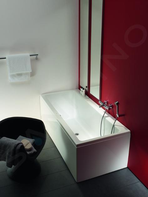 Laufen Pro - Vana s konstrukcí a čelním panelem levým, 1700x750 mm, bílá H2319550000001
