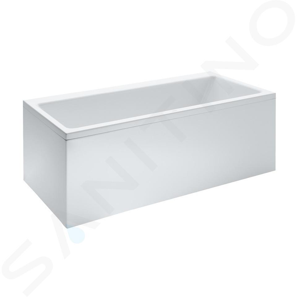 Laufen Pro - Vana 1600x700 mm, s čelním L panelem levým, bílá H2339550000001