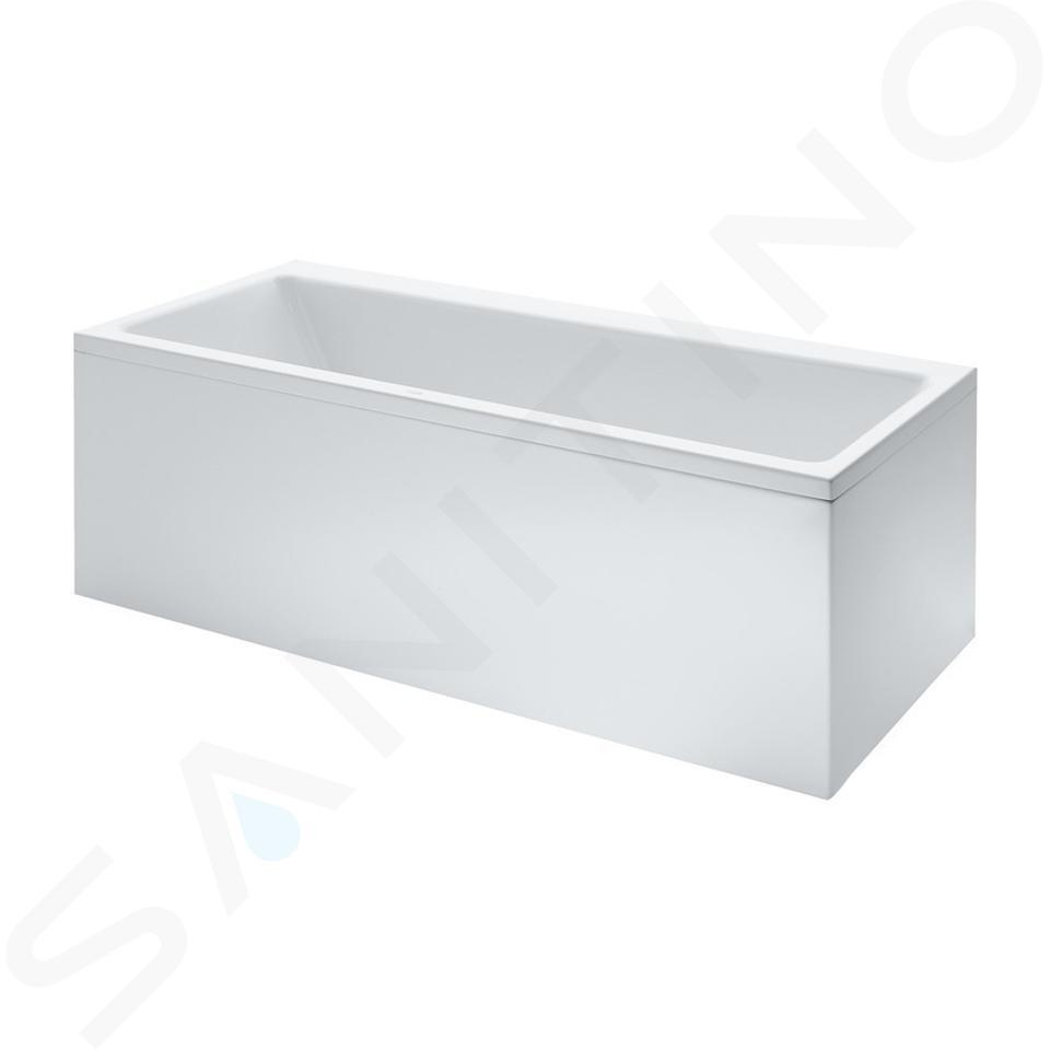 Laufen Pro - Vana 1600x700 mm, s čelním L panelem pravým, bílá H2339560000001