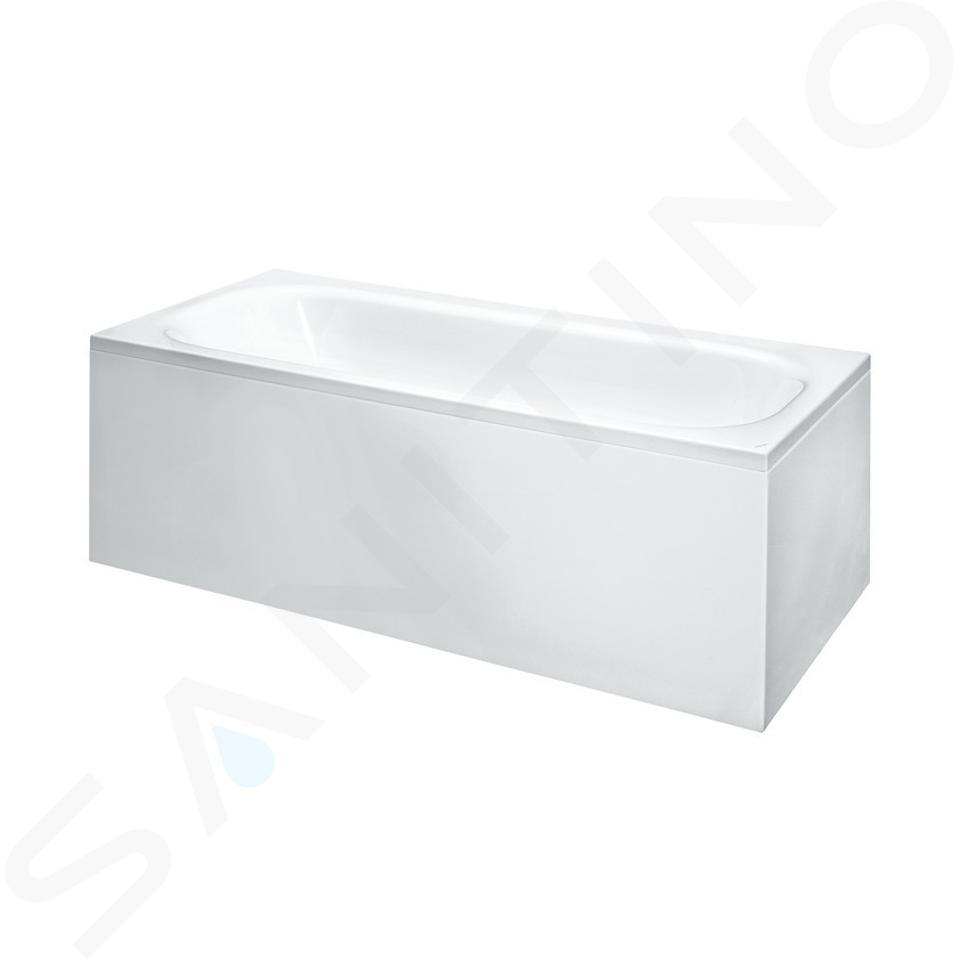 Laufen Solutions - Vana s konstrukcí a L-panelem pravým, 1800x800 mm, bílá H2245060000001