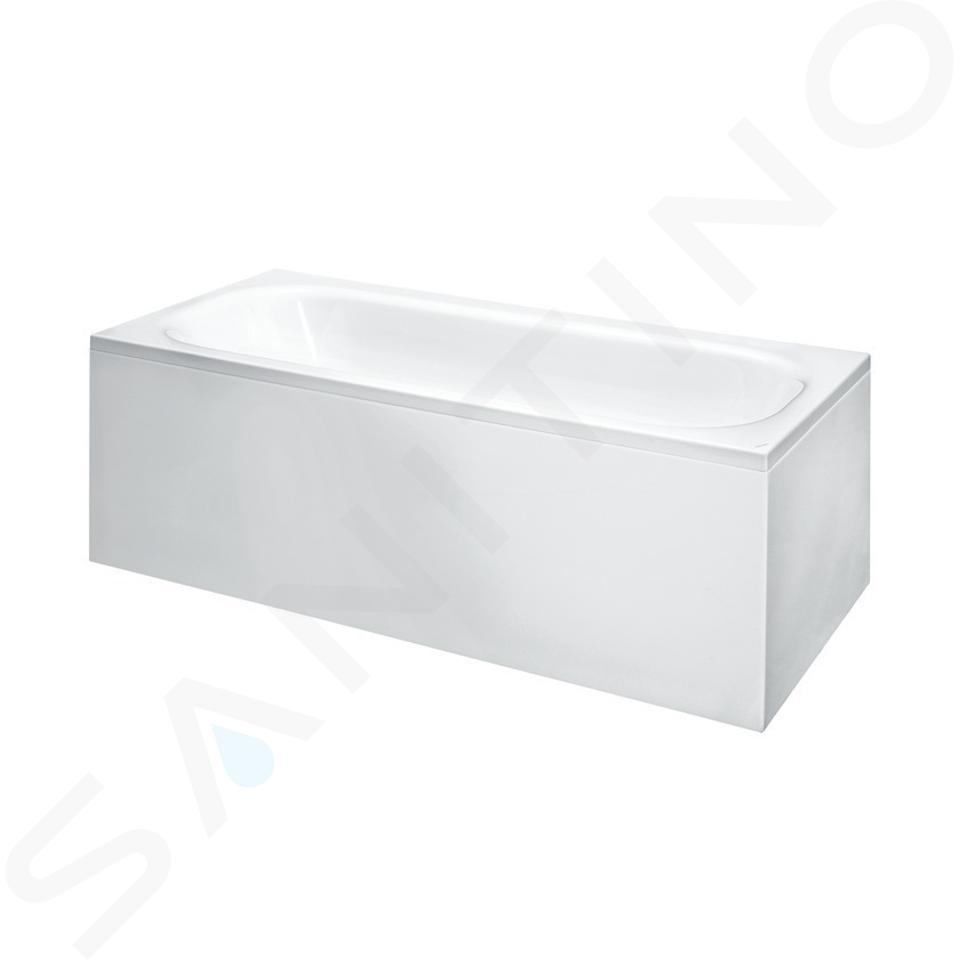 Laufen Solutions - Vana s konstrukcí a L-panelem pravým, 1700x750 mm, bílá H2235360000001
