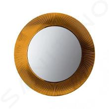Laufen Kartell - Zrcadlo v rámu, průměr 780 mm, jantar H3863310810001