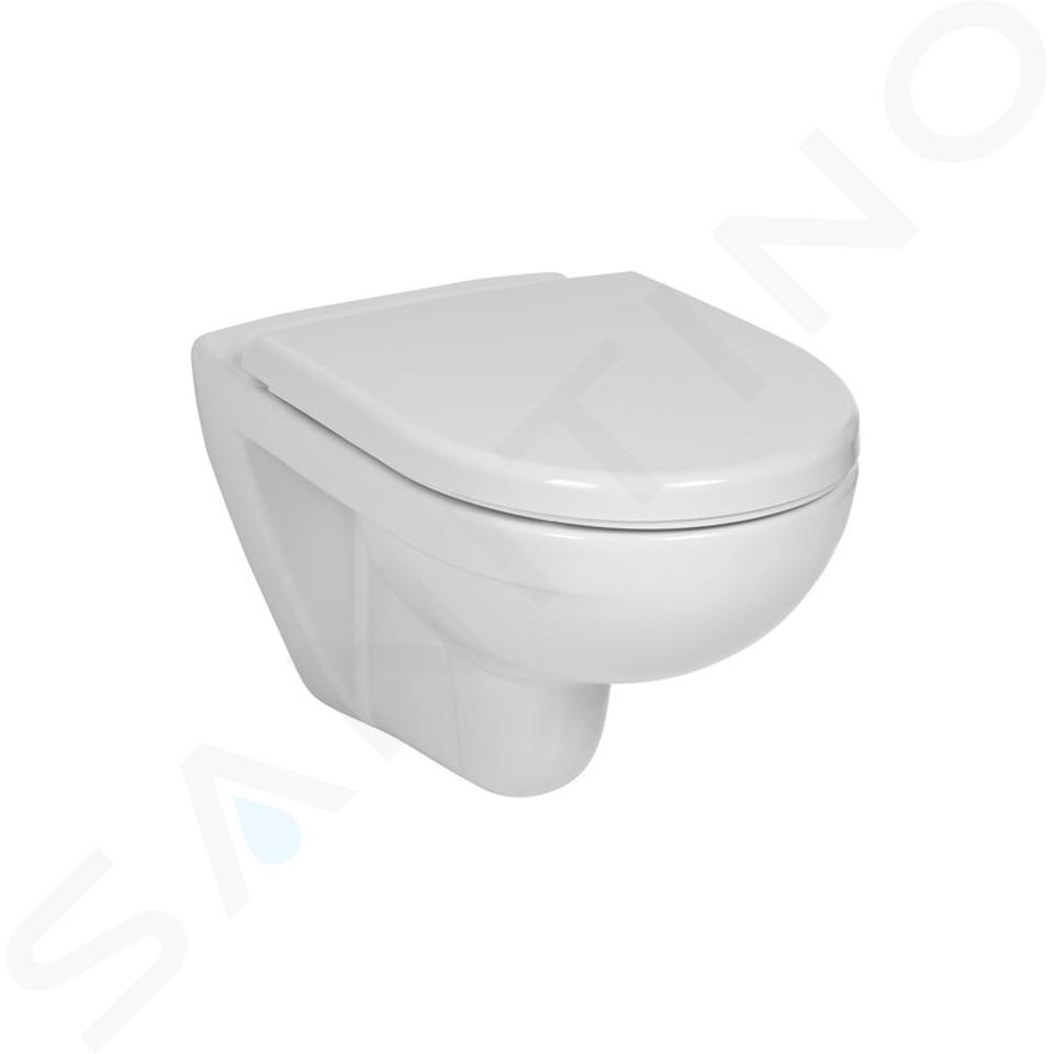 Jika Lyra plus - Závesné WC, biela H8233800000001