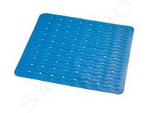 Sapho Ridder Playa - Podložka 54x54 cm, s protiskluzem, kaučuk, modrá 68403