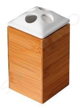 Sapho Ridder Bamboo - Držiak kefiek na postavenie, bambus/drevo 22070211