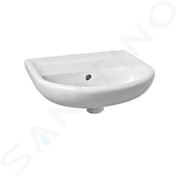 Jika Lyra plus - Umývátko s přepadem 400x310 mm, bílá H8153810001091
